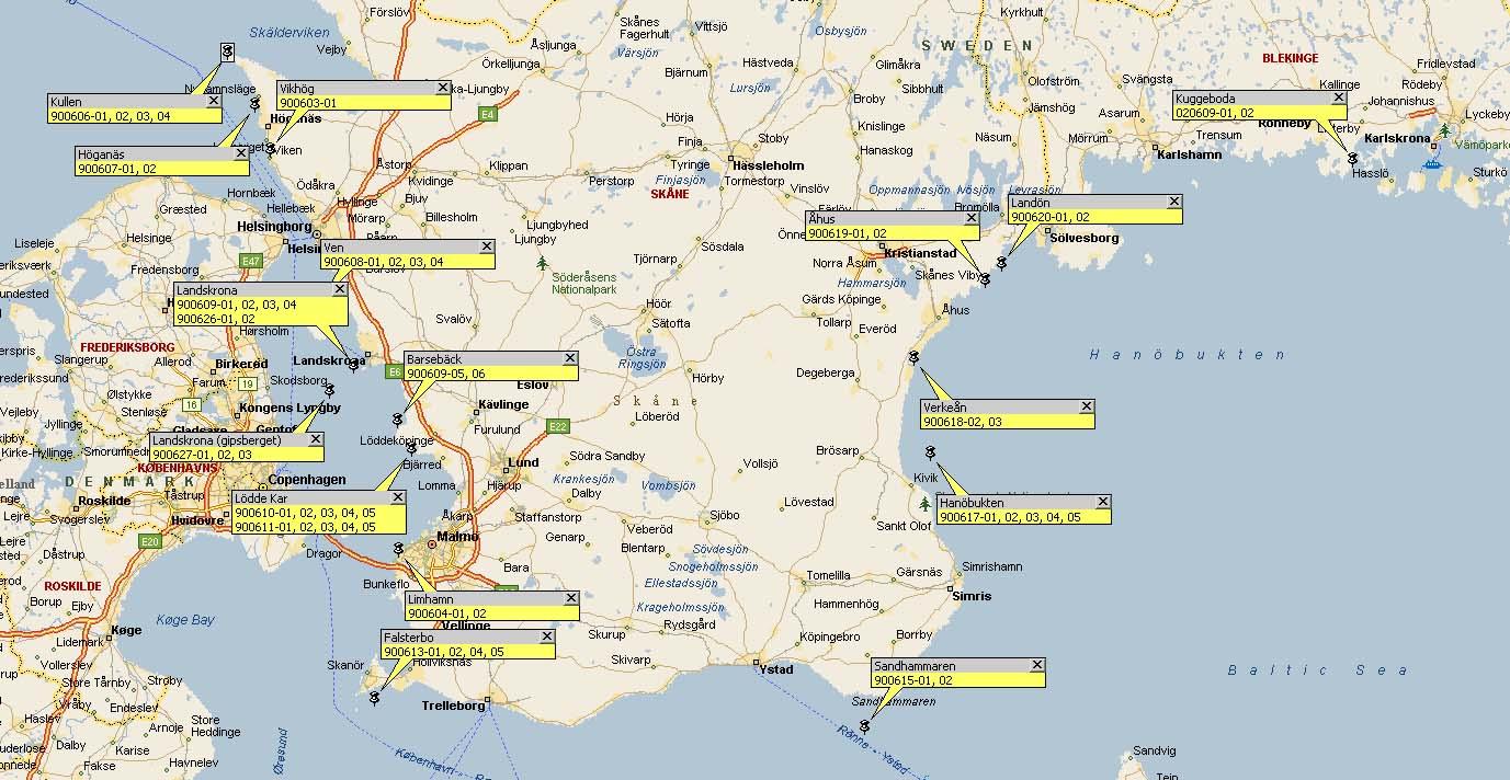 karta norra skåne